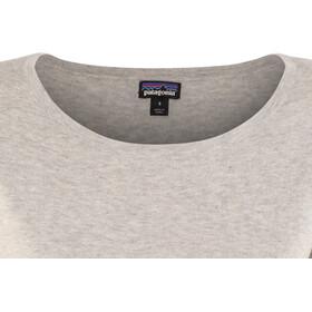 Patagonia Low Tide T-shirt zippé Femme, tailored grey
